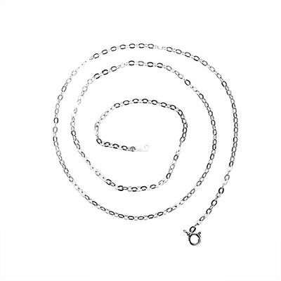 2.4mm 모 체인 은목걸이 MOC000N0D24