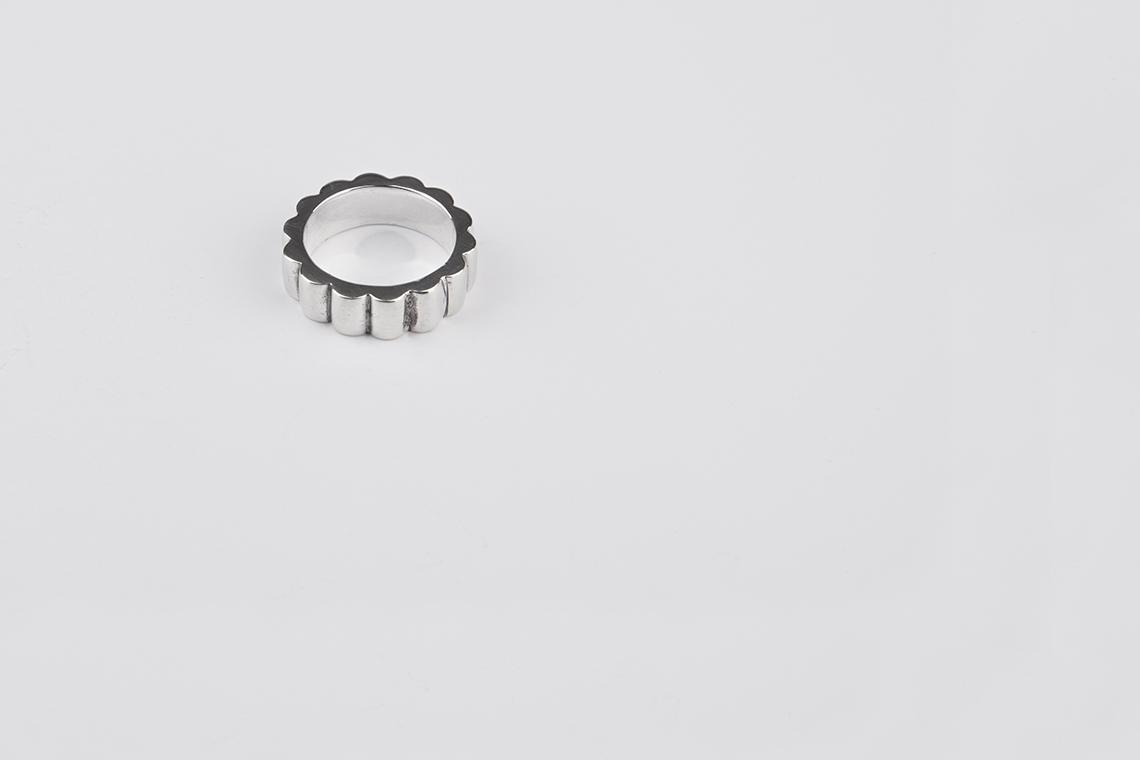 도르래기어 은반지 - 실버웍스, 82,000원, 남성주얼리, 반지