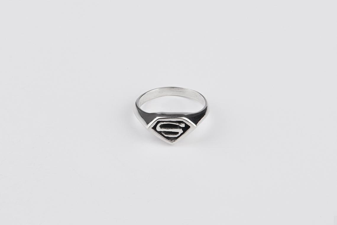 스몰 슈퍼맨 은반지 - 실버웍스, 39,000원, 남성주얼리, 반지