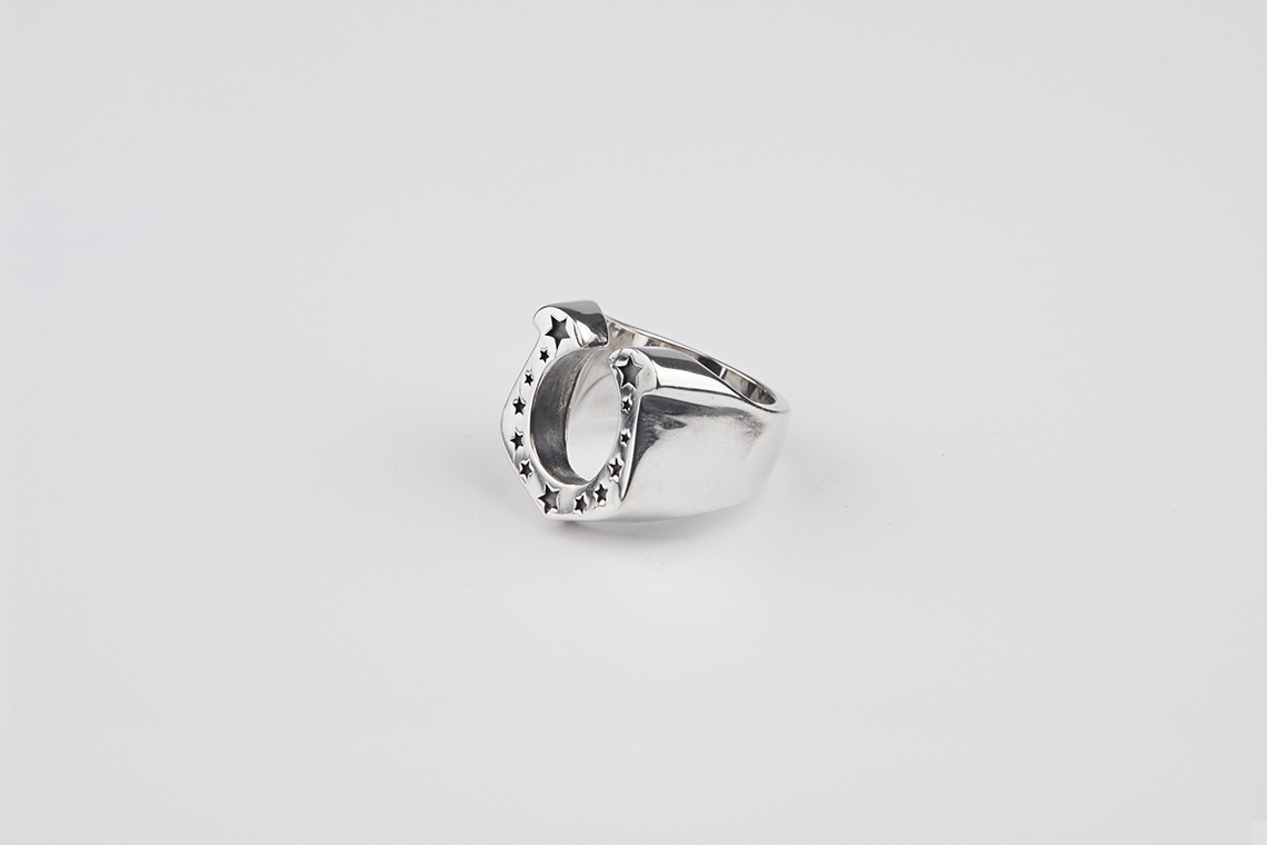 스타 말발굽 은반지 - 실버웍스, 163,000원, 남성주얼리, 반지