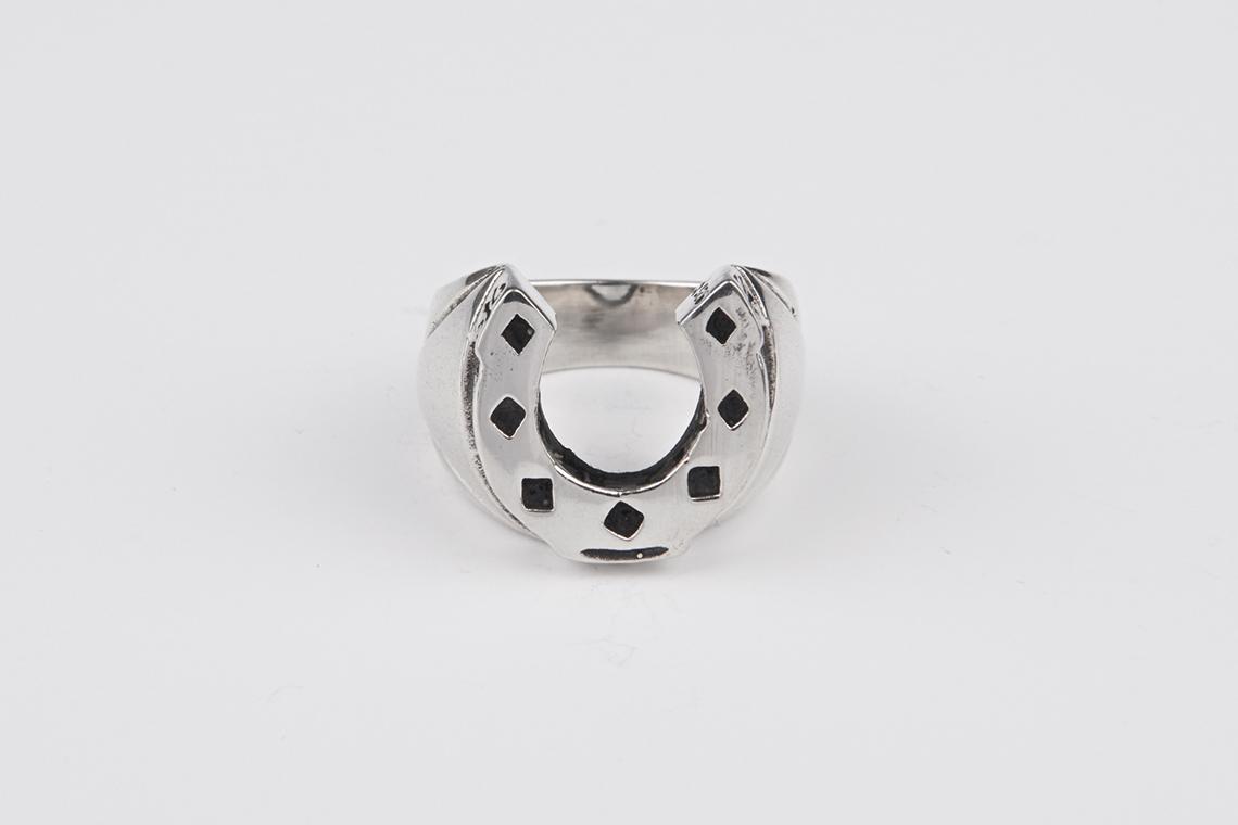 미디움 다이아몬드 말발굽 은반지 - 실버웍스, 84,000원, 남성주얼리, 반지