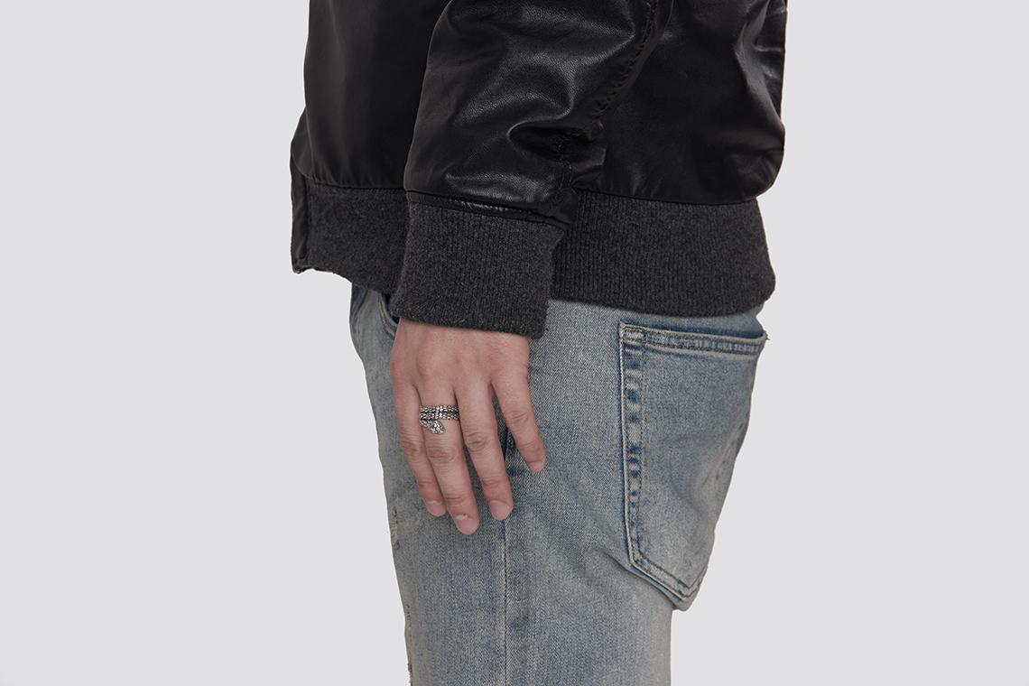 원 스네이크 은반지 - 실버웍스, 73,000원, 패션, 패션반지