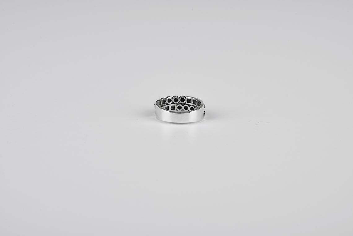 사각 원 스파이크 은반지 - 실버웍스, 32,800원, 패션, 패션반지