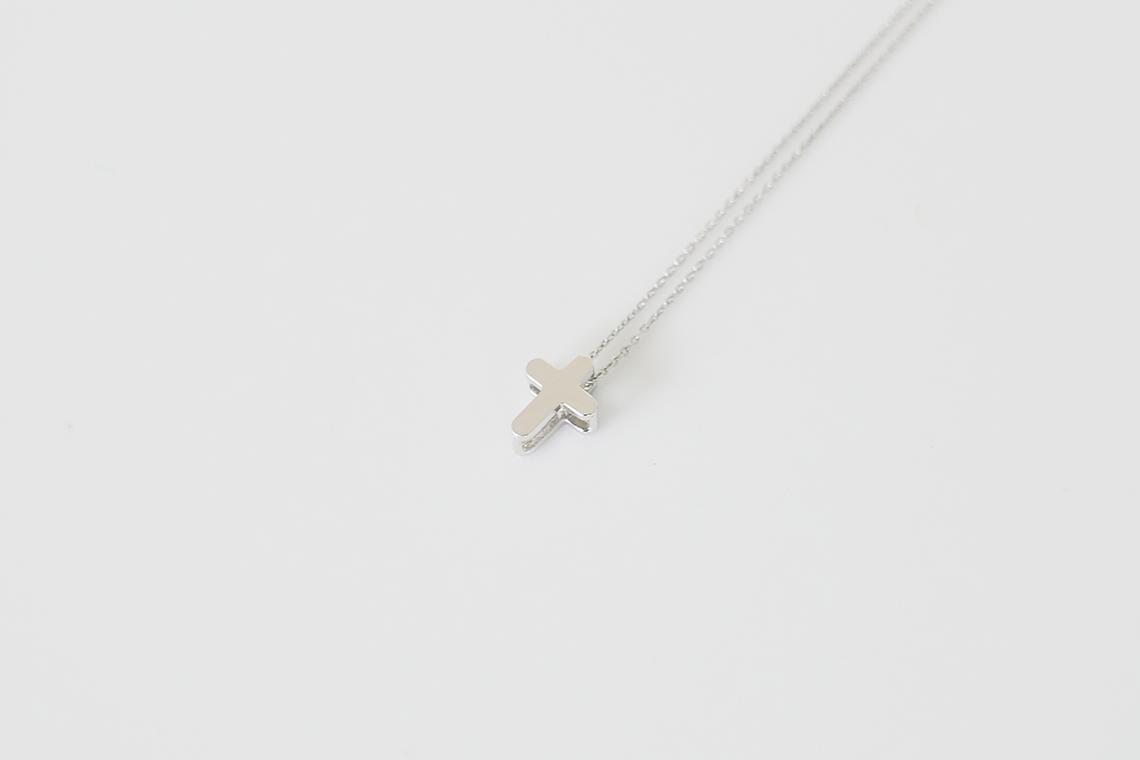 심플 라운딩 십자가 은목걸이 GNSW-C002 - 실버웍스, 25,900원, 실버, 펜던트목걸이