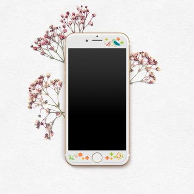 새침때기 - 아이폰6Plus 6sPlus 디자인 강화유리