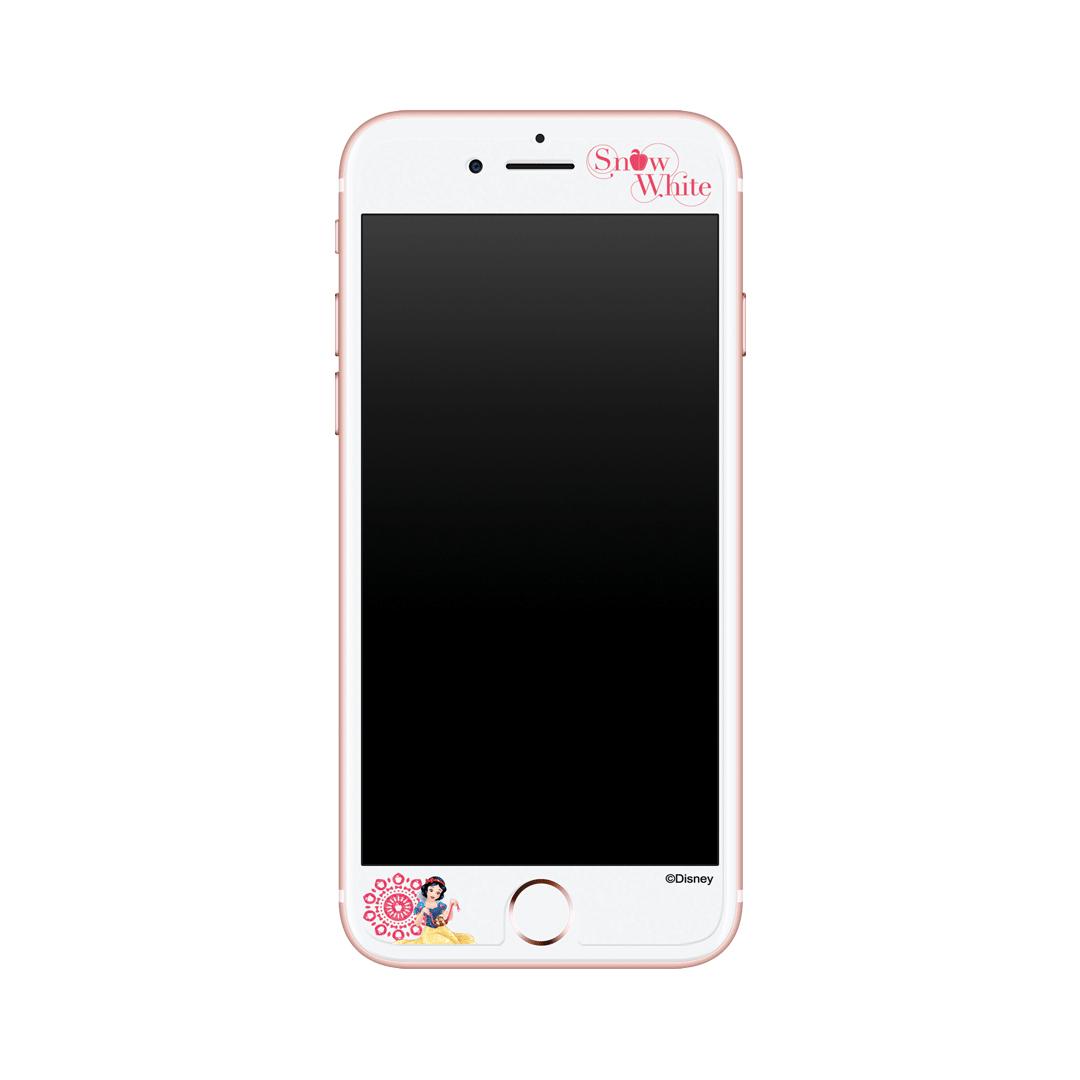공주시리즈 - 백설공주 아이폰 디자인 강화유리 - 블링글링, 20,900원, 필름/스킨, 아이폰6/6 플러스