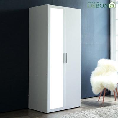 데시앙 800 전신거울 옷장 (이불장/옷장)