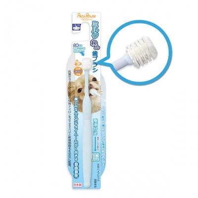 펫츠루트 강아지 우유 칫솔