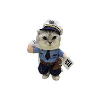 고양이 코스튬 교통경찰 M