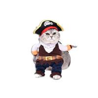 고양이 코스튬 해적 M
