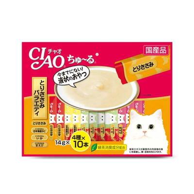 이나바 고양이 챠오츄르 닭가슴살 버라이어티 14gx40개입
