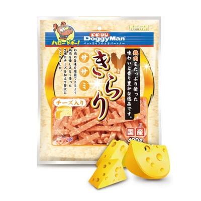 (유통기한19.07.10)도기맨 애견간식 반짝반짝 사사미 치즈 400g