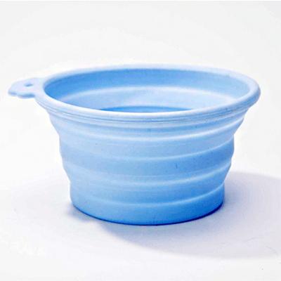 하겐 주토피아 강아지 실리콘 그릇 (블루)