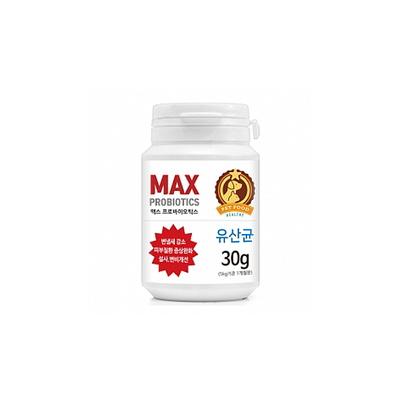 반려동물 유산균 맥스 프로바이오틱스 30g