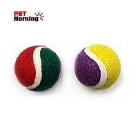 펫모닝 강아지 장난감 고무 공 테니스볼 소형 1개입