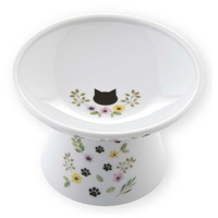 네코이찌 여름 한정 가든에디션 고양이 엑스트라 와이드 푸드볼 그릇