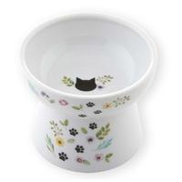 네코이찌 여름 한정 가든에디션 고양이 푸드볼라지 그릇