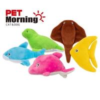 펫모닝 강아지 애착인형 장난감 바닐라향 바다 물고기 TOY 1개입 (색상랜덤)
