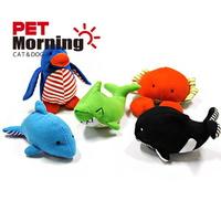 펫모닝 강아지 애착인형 장난감 바닐라향 바다 동물 TOY 1개입 (색상랜덤)
