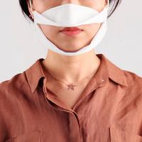 입보이는 투명 마스크 청각장애인 수화용 립뷰 마스크