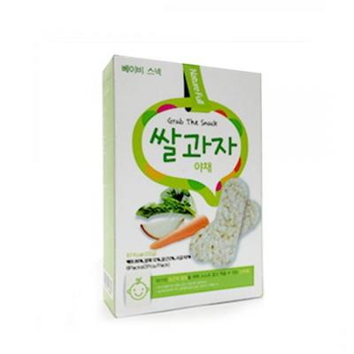 [기획]베이비스낵 야채 쌀과자22gx6팩 5박스