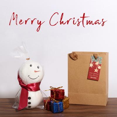 스노우맨 배쓰밤 크리스마스 선물 눈사람 거품입욕제