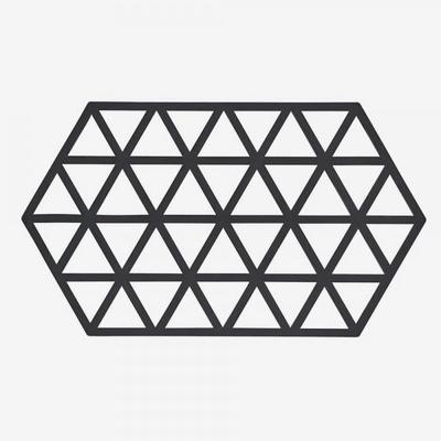 존덴마크 존 빅 트라이앵글 실리콘 냄비받침 - 블랙