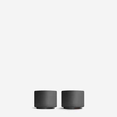 펠로우 몬티 데미타세잔 3.0oz(89ml) 2개세트 - 블랙