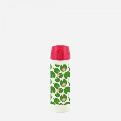 씨킵(℃-KEEP) 스텐머그보틀300ml-Red water lilly