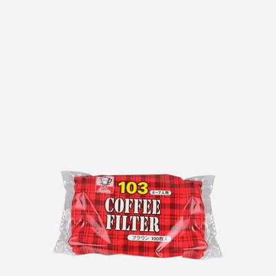 칼리타 NK103필터 100p - 브라운