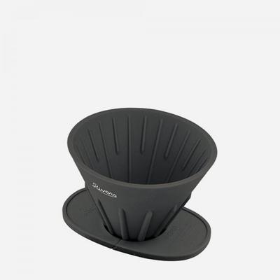 리버스 커피 드리퍼,홀더 세트 - 블랙