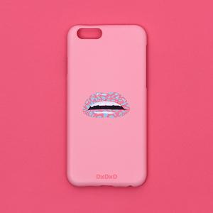 아이폰6 6S 7 핑크 레오파드 입술 아이폰케이스