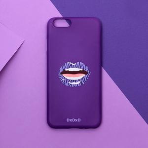 아이폰6 6S 7 퍼플 지브라 입술 아이폰케이스