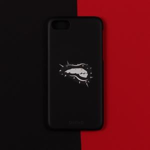 아이폰6 6S 7 반타블랙 스터드 입술 아이폰케이스