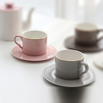 커피잔세트_골드라인소울커피잔 찻잔세트 집들이선물