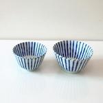 아오센 블루라인 공기대접세트 일본그릇