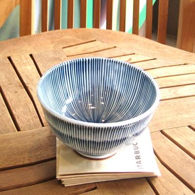 일본그릇-후데 돈부리그릇 덮밥그릇