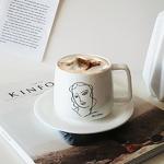 앙리마티스 커피잔세트