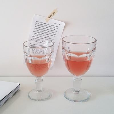 카사블랑카 고블렛잔 와인잔 맥주잔