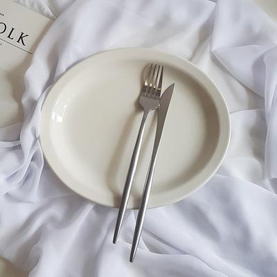 시라쿠스 오벌 카페접시 디저트접시