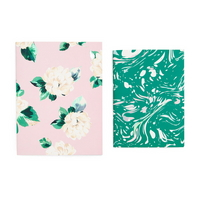 good ideas notebook set lady of leisure marble