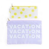 carryall duo-vacation dots