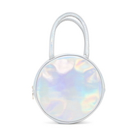 girls gotta eat lunch bag holographic