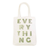 canvas tote - everything