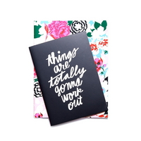 good ideas notebook set florabunda