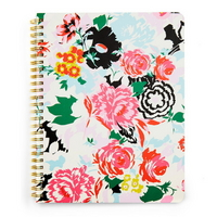 rough draft mini notebook - florabunda