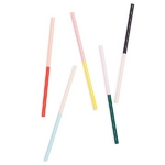 sip sip straw set - colorblock