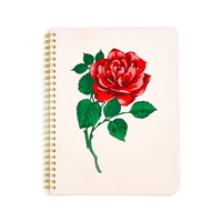 Rough draft mini notebook - will you accept this rose