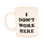 hot stuff ceramic mug - i dont work here