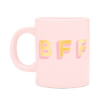 hot stuff ceramic mug - bff